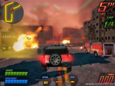 Deadly Race - Game đua xe bắn súng hay