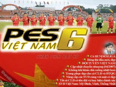 """PES 6 - Phiên bản game bóng đá """"hay nhất mọi thời đại"""""""